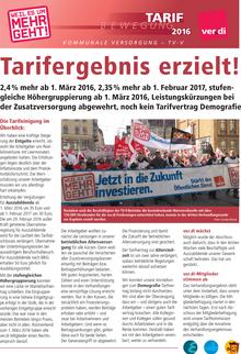Tarifinfo ÖD 2016 vom 30.04.2016