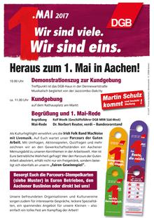 Maikundgebung in Aachen