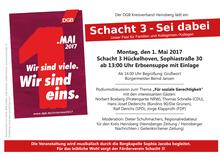 Maikundgebung in Hückelhoven (Heinsberg)