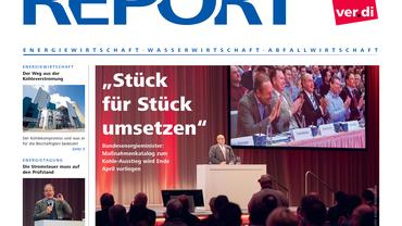 Report (01/2019): Magazin des Fachbereich Ver- und Entsorgung
