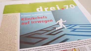 drei.70 (2019): Magazin des Fachbereichs Gesundheit, Soziale Dienste, Wohlfahrt und Kirchen