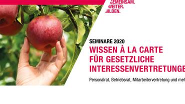 Wissen á la carte 2020 für gesetzliche Interessenvertretungen