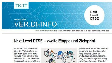 ver.di-Info Next Level DTSE Februar 2021 - Teaser